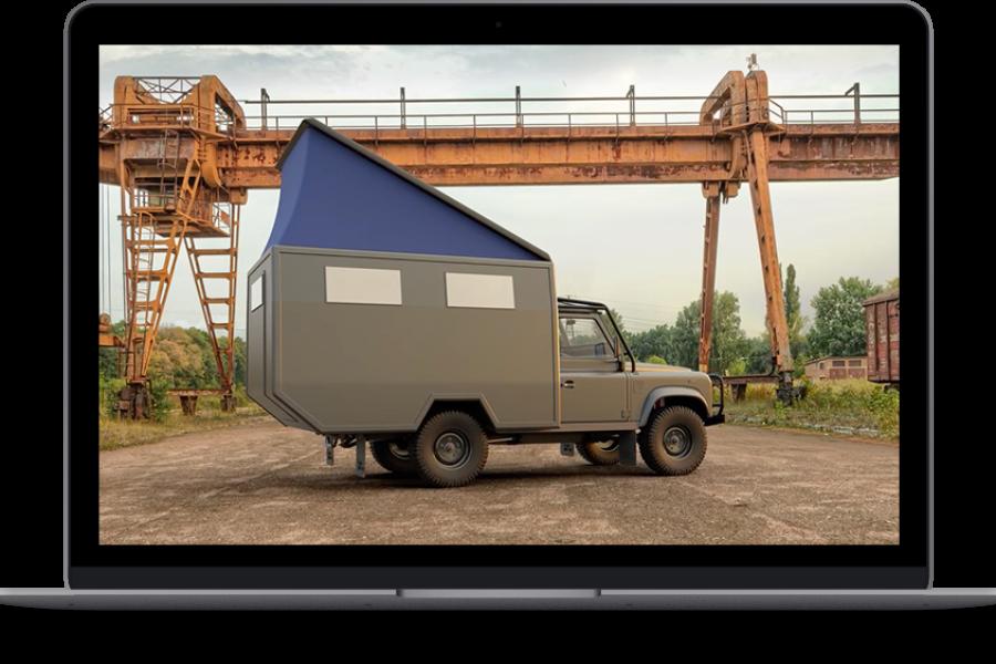 3D Kabinen Visualisierung