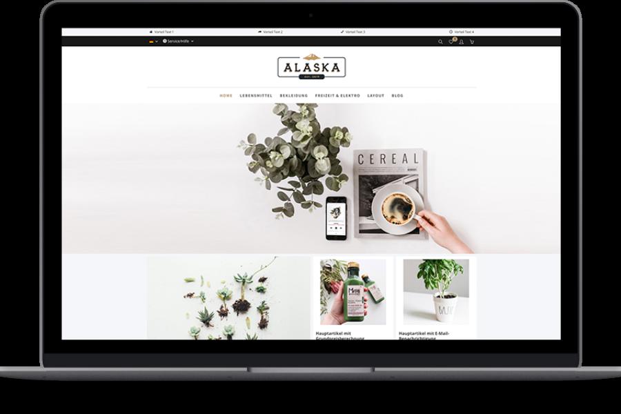 Shopware Theme – Alaska