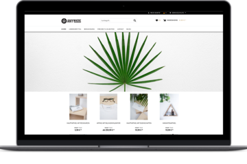 Shopware Theme – Anywhere